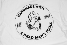 Handmade with a dead man's tools